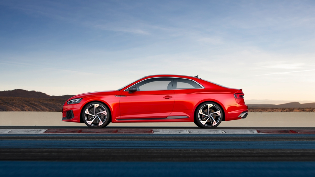 The Audi RS 5 coupe.