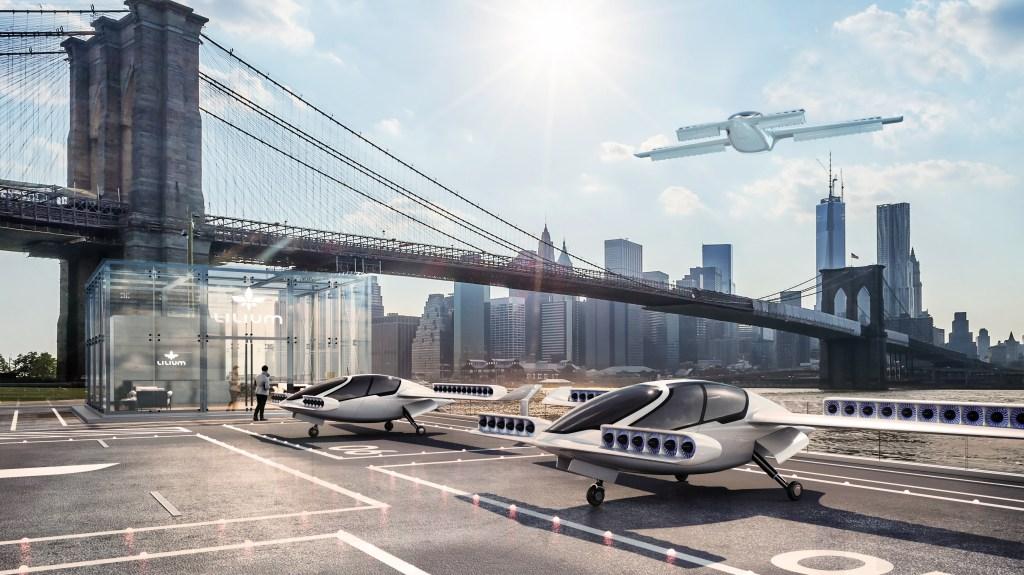 Lilium Electric Vertical Take-Off and Landing Jet