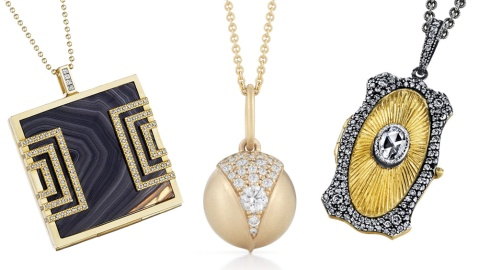 Diamond lockets