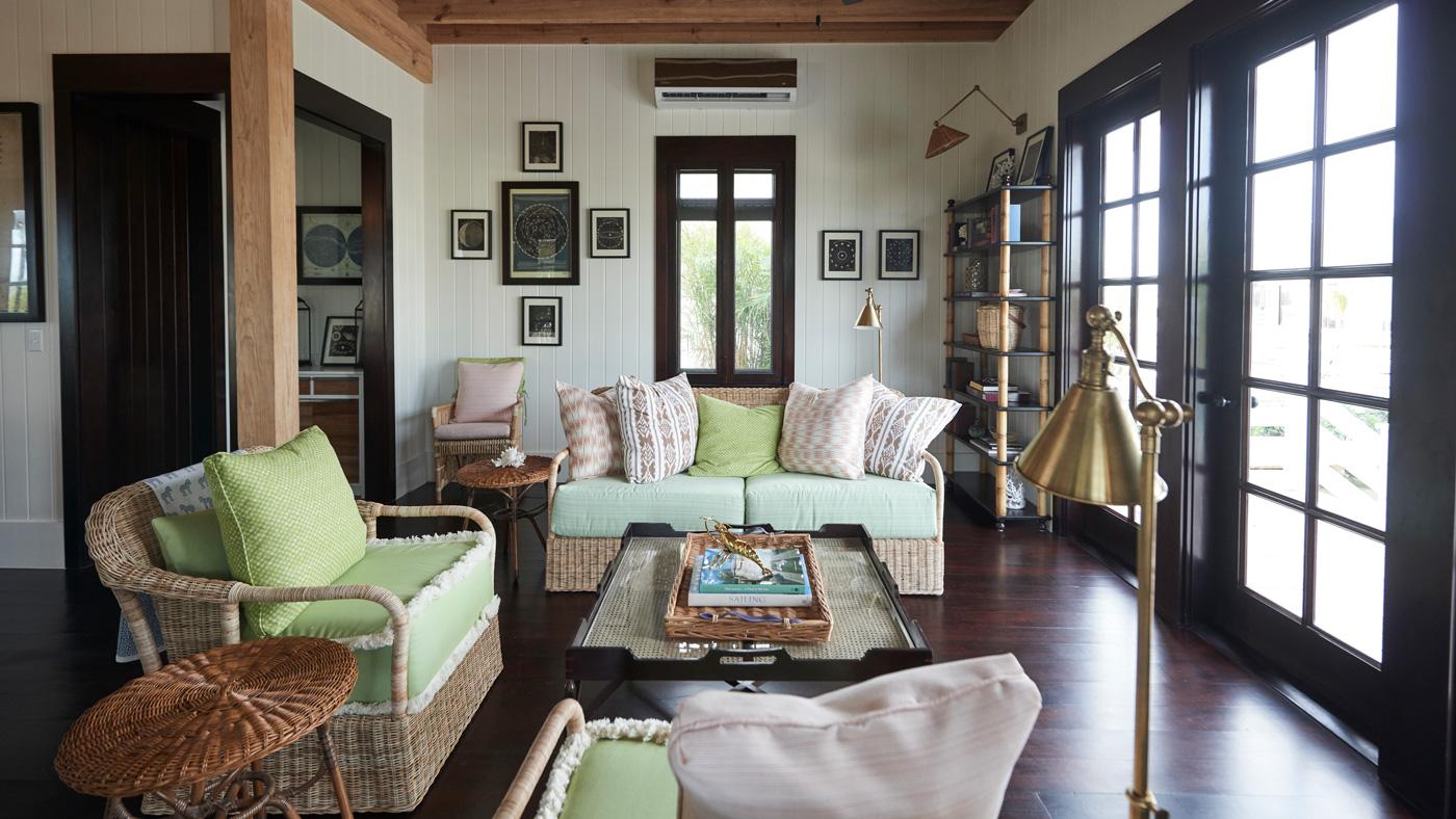 Living Room in Belize Cottage