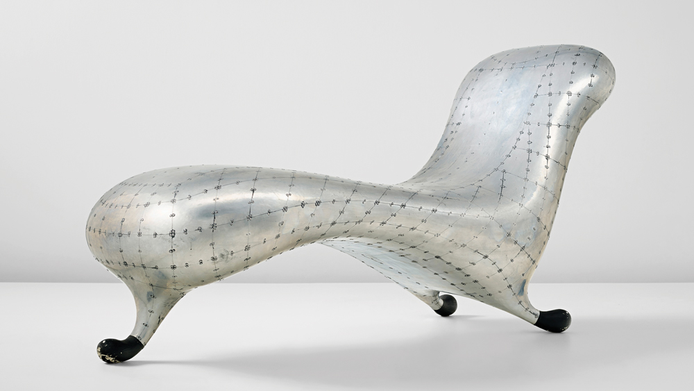 Marc Newson's Lockheed Lounge sold for $3.7 million.