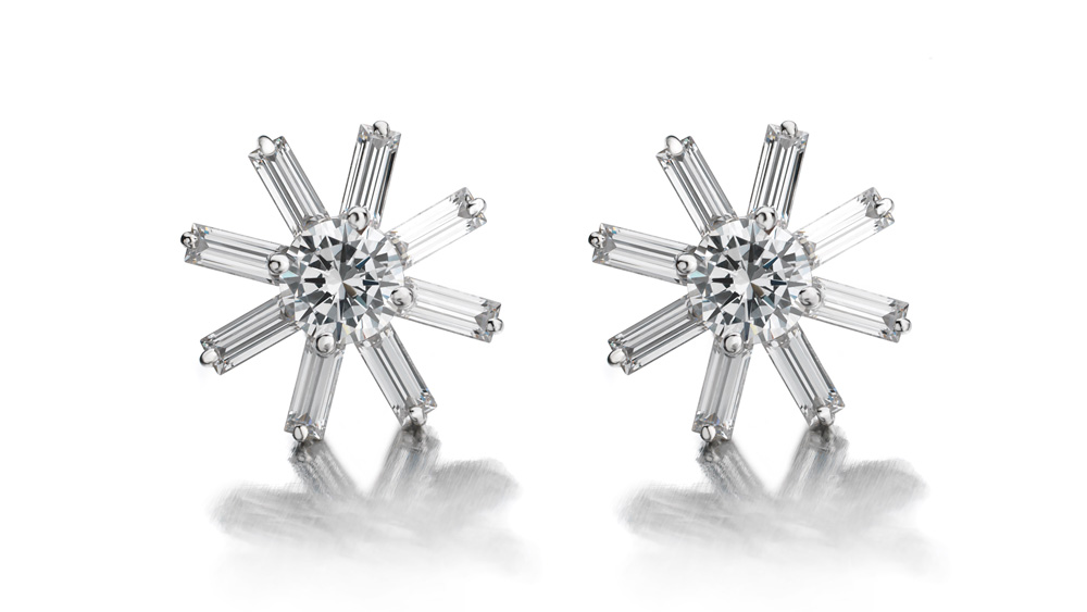 Maria Canale snowflake earrings
