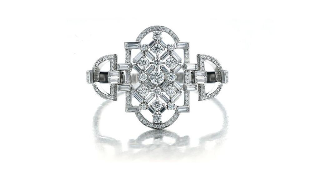 Maria Canale diamond cuff