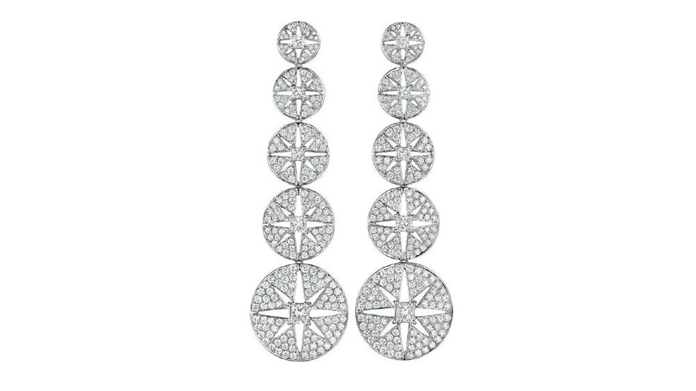 Maria Canale starburst earrings