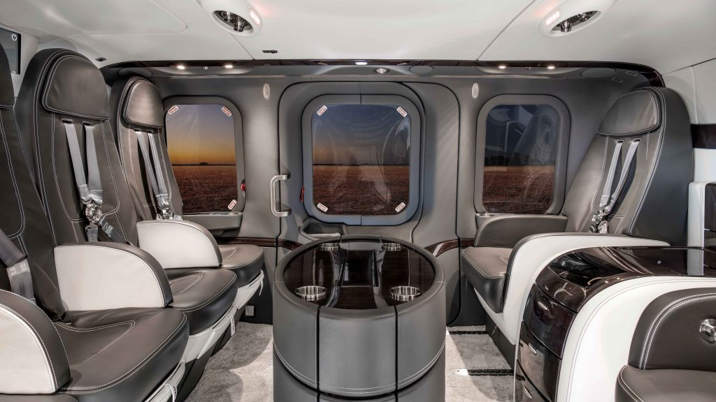 Mecaer helicopter private travel