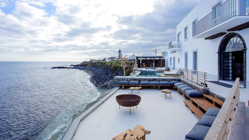 The White Hotel on Portugal's São Miguel Island
