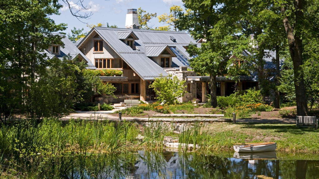 Waterfront Home in Michigan