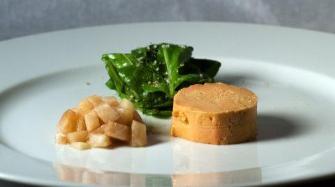 foie gras pickled pear