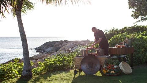 seaside cooking chef