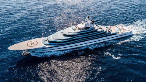 Oceanco Jubilee superyacht Netherlands dutch