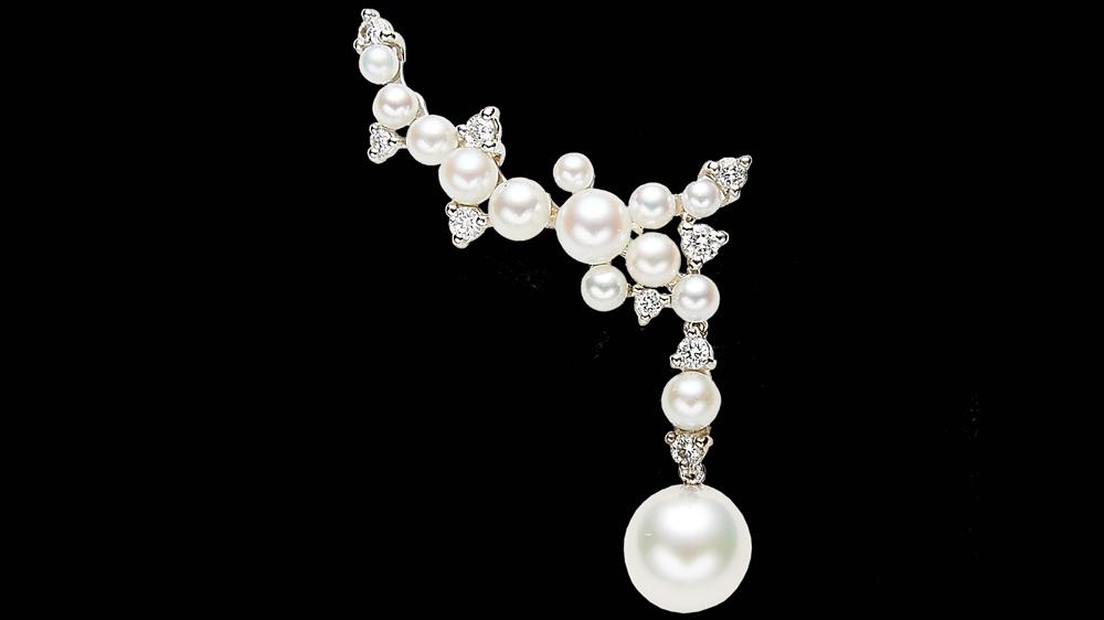 Paul Morelli Lagrange Pearl Trellis earrings