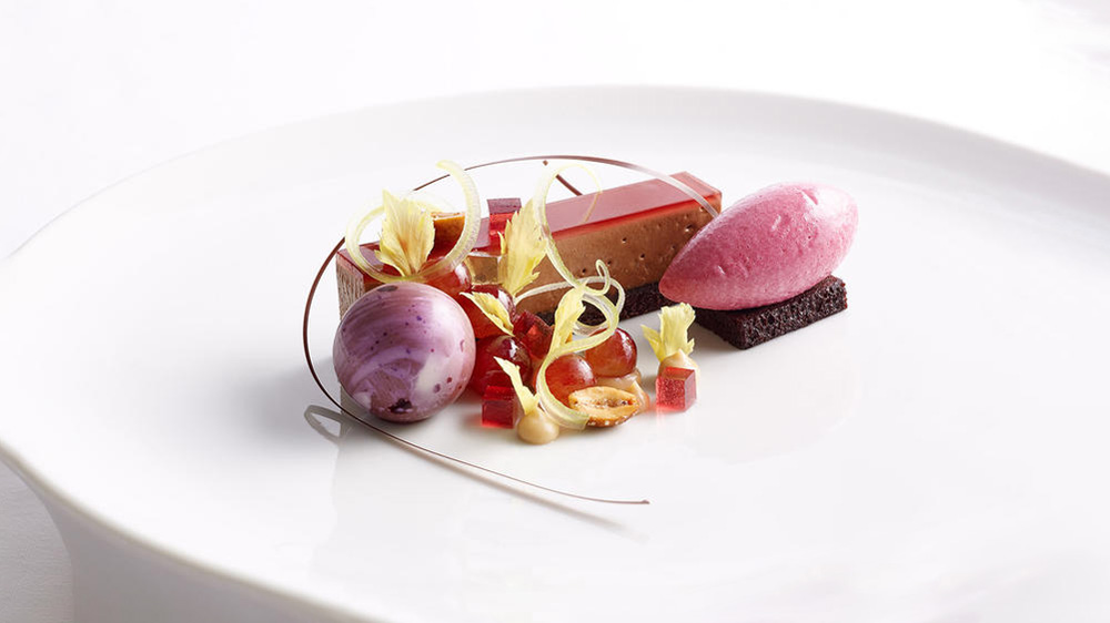 fruit sorbet cake