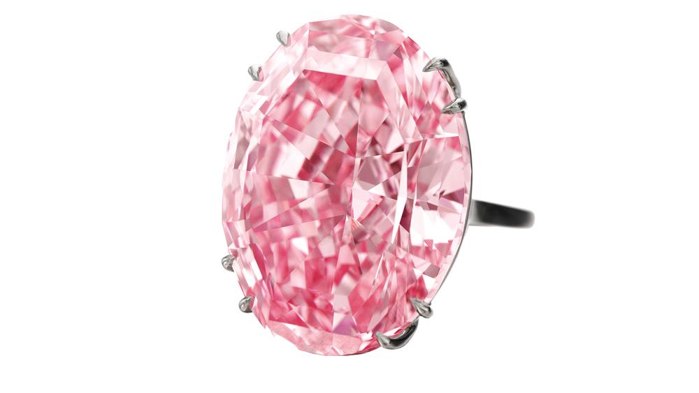59.60-carat vivid Pink Star diamond