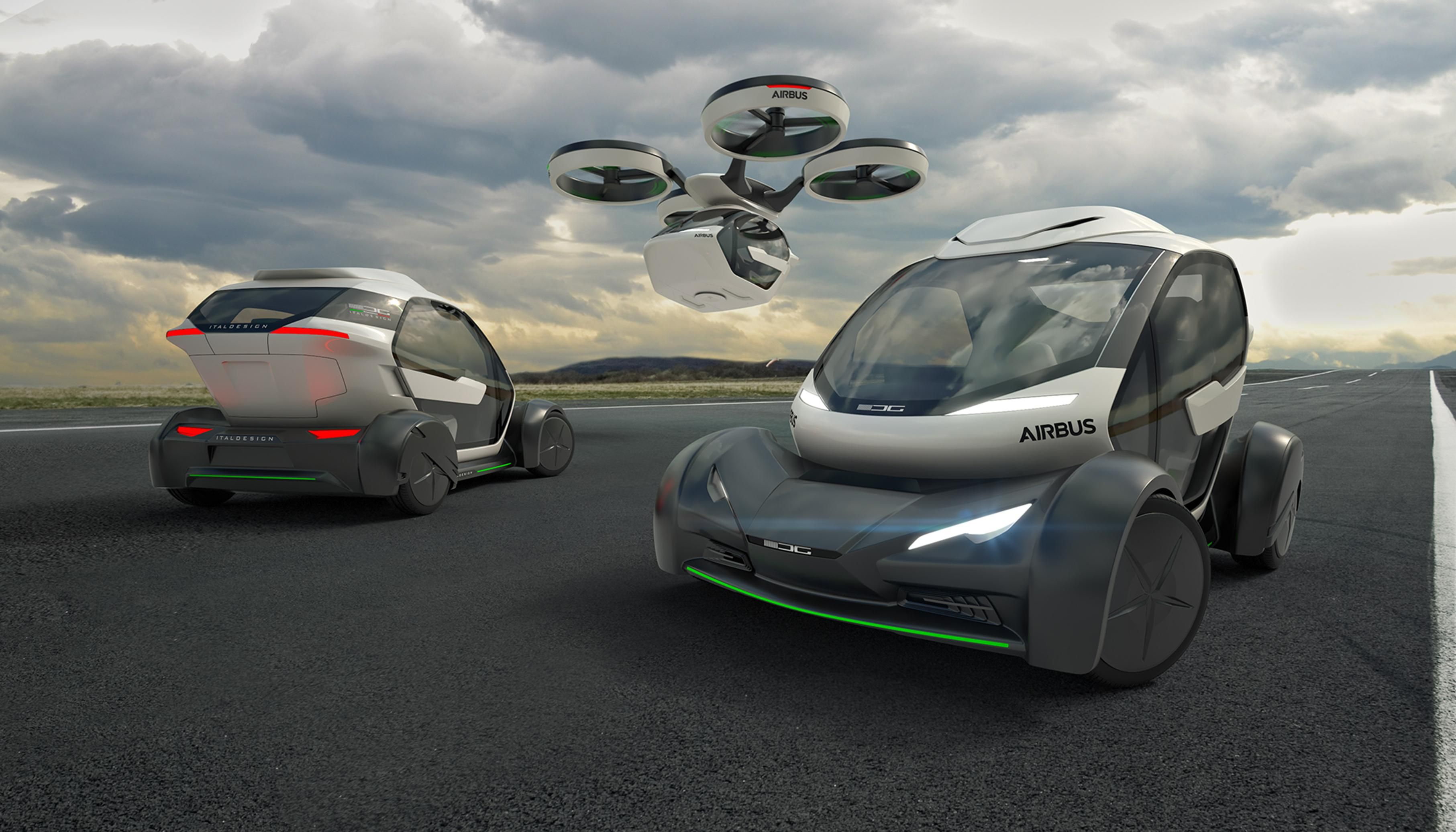 Airbus Pop.Up flying car helicopter
