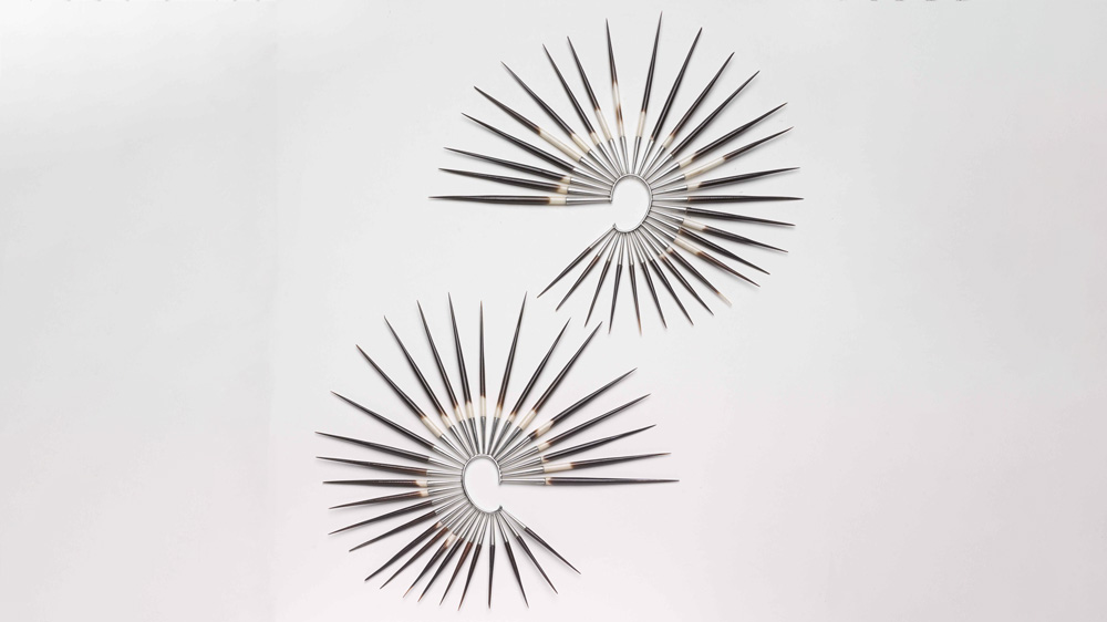 Shaun Leane porcupine quill earrings