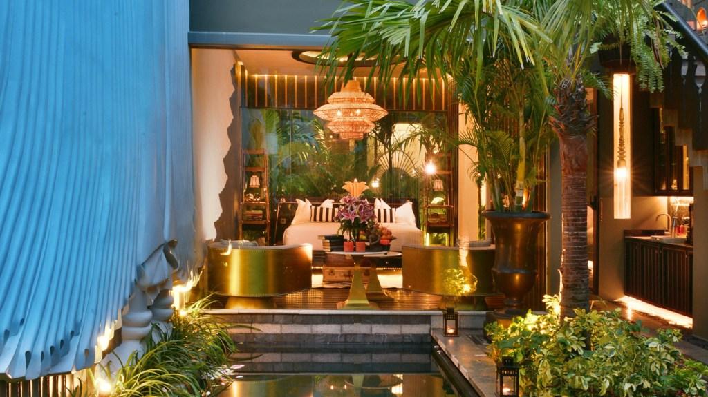 Exotic luxury resort in Cambodia