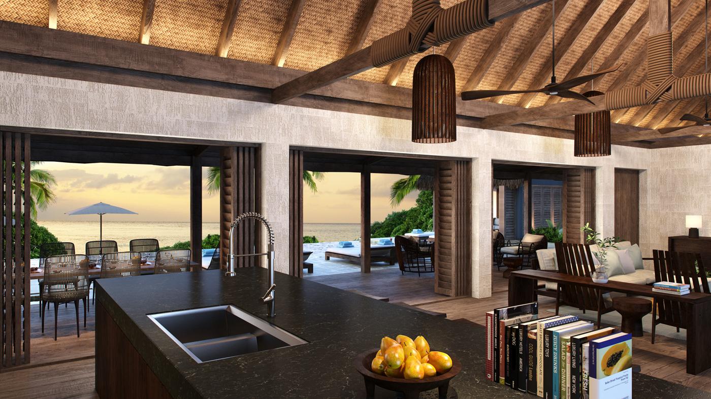 Six Senses Fiji vacation home