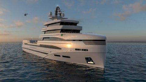 Rosetti Superyachts supply vessel explorer yacht adventure Italian Tommaso Spadolini