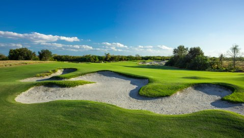 Streamsong Black bunker