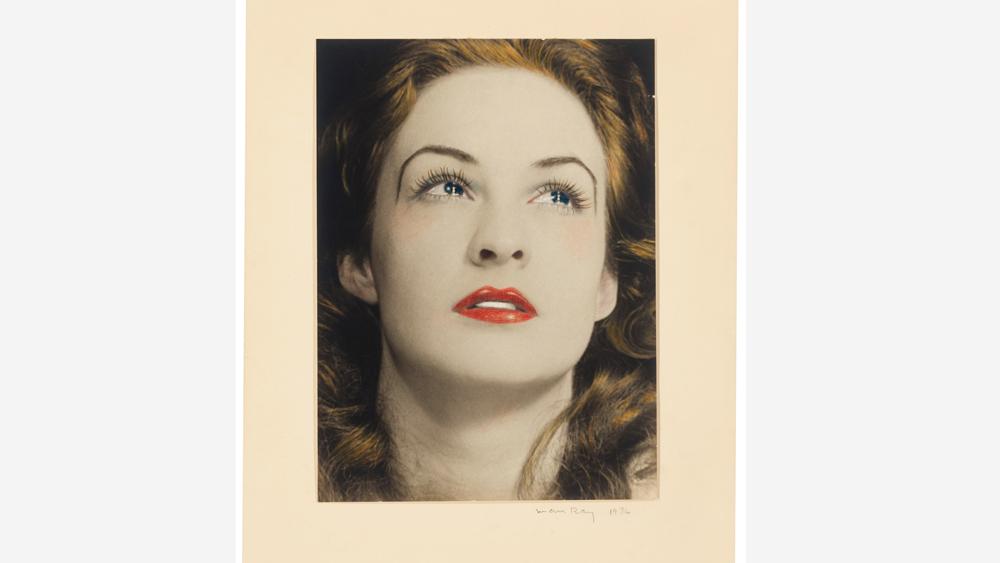 Man Ray's Portrait of a Tearful Woman (1936)