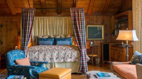 Luxury lodge in Adirondacks