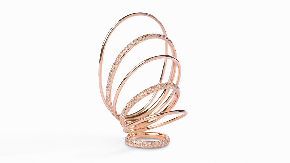 Gaelle Khouri thumb ring