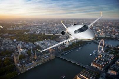 Bombardier Challenger 350 business jet