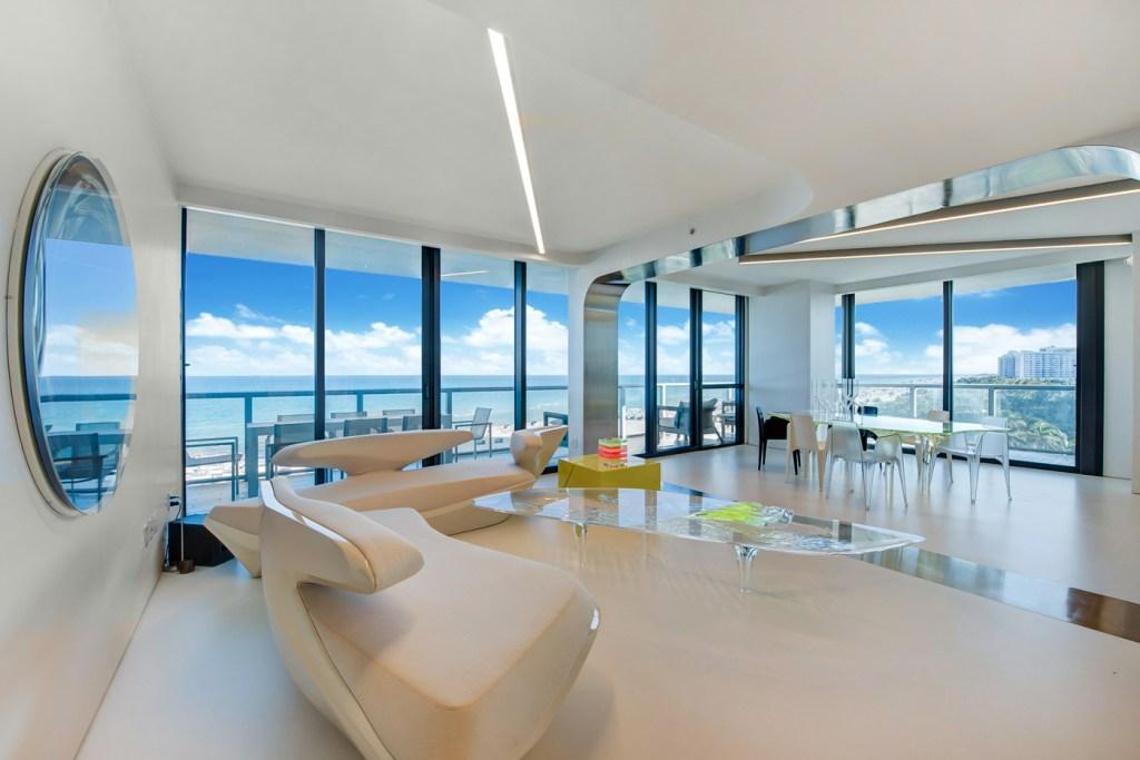 high-rise condo in Miami Beach