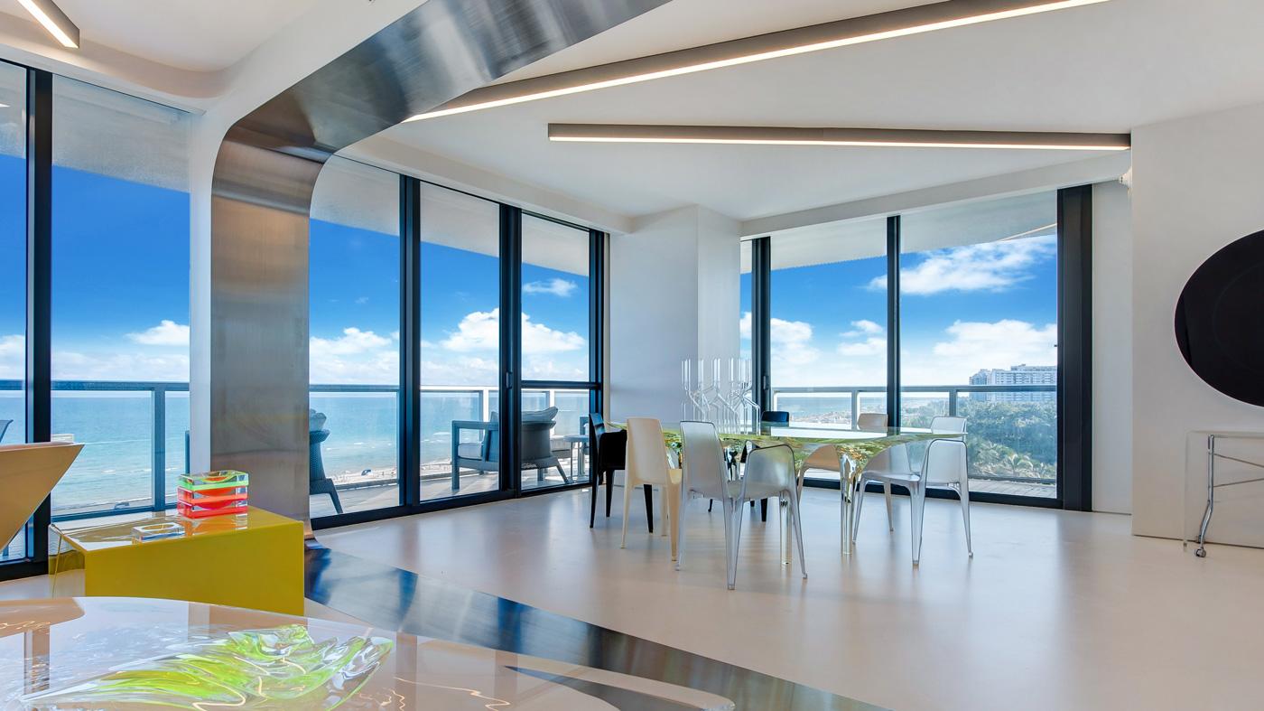 high-rise condo in Miami