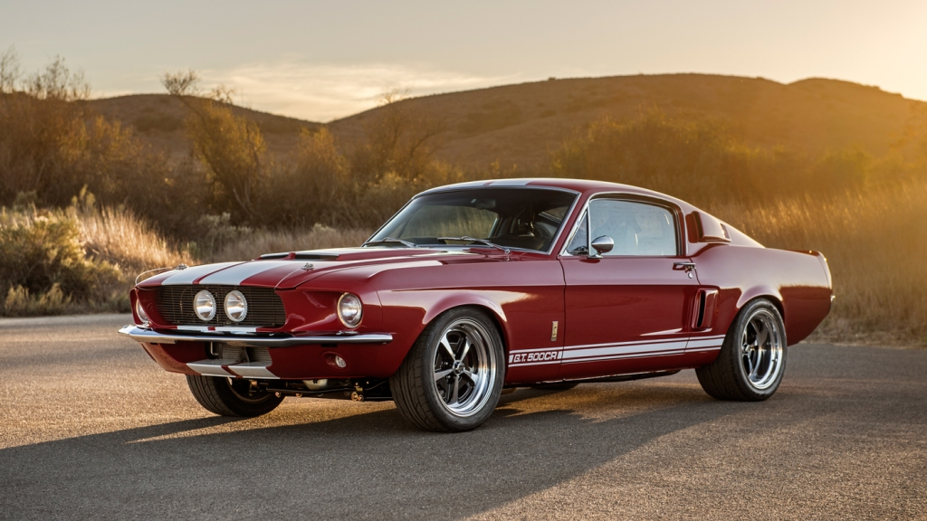 The G.T. 500CR Classic Shelby Mustang.
