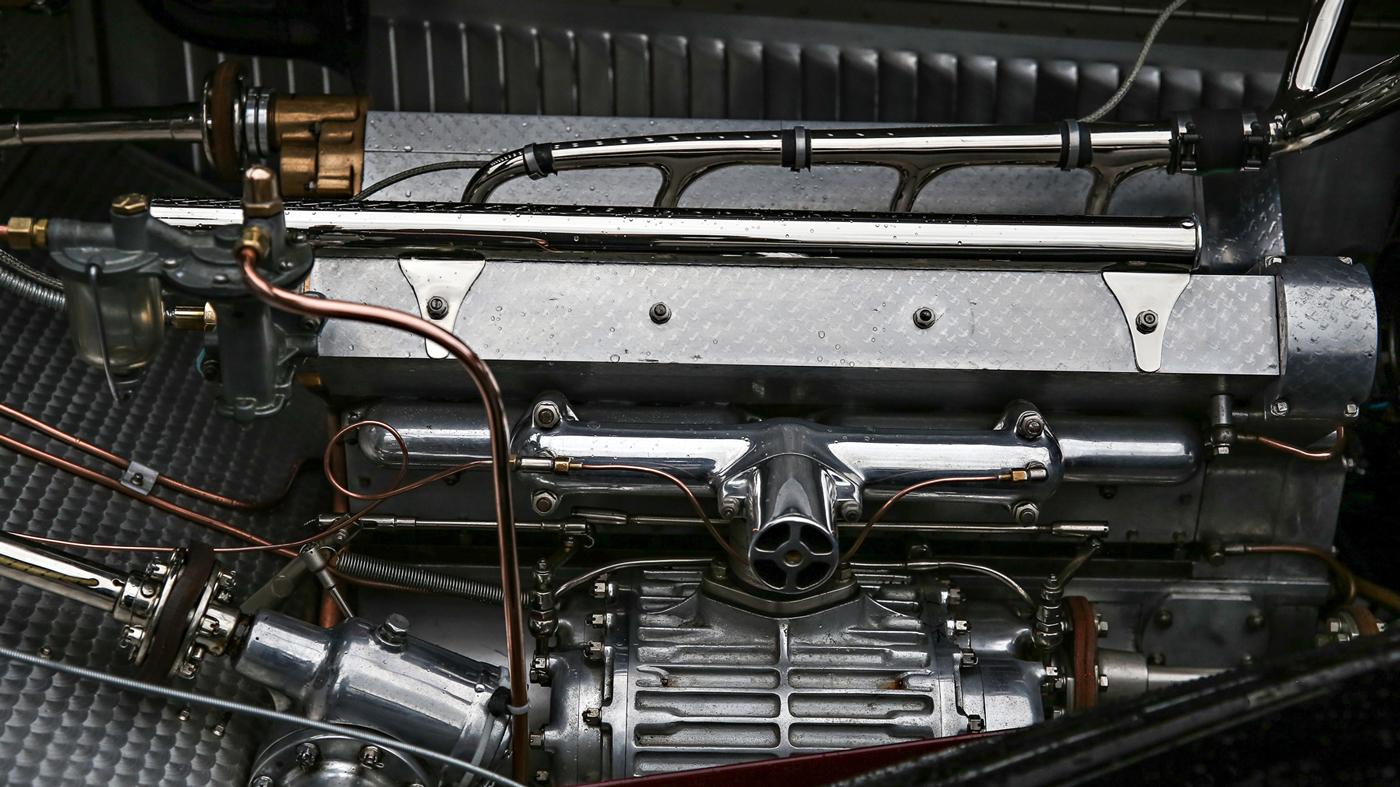 1931 Bugatti Type 55 Roadster.