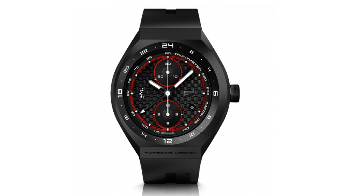 Porsche Design's Monobloc Actuator 24-Hour Chronotimer Limited Edition.