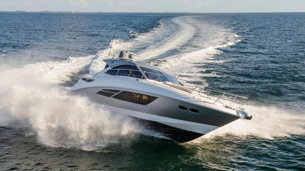 Sea Ray Signature 510 American yacht