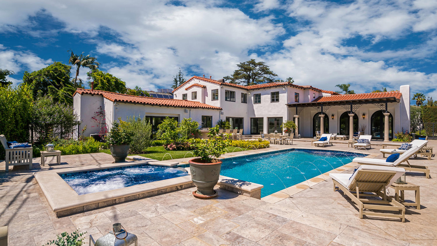 3 Spanish Style Homes In Los Angeles California Robb Report
