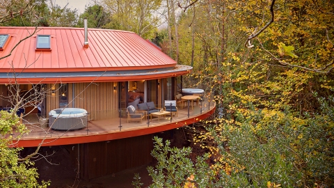 Treehouse hotel suite