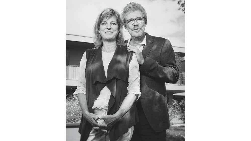 Jean-Marc Wiederrecht and his wife Catherine