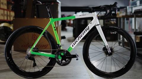 Alchemy custom-made bike