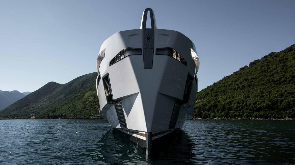 Fulvio de Simoni Rossinavi Aurora Italian superyacht
