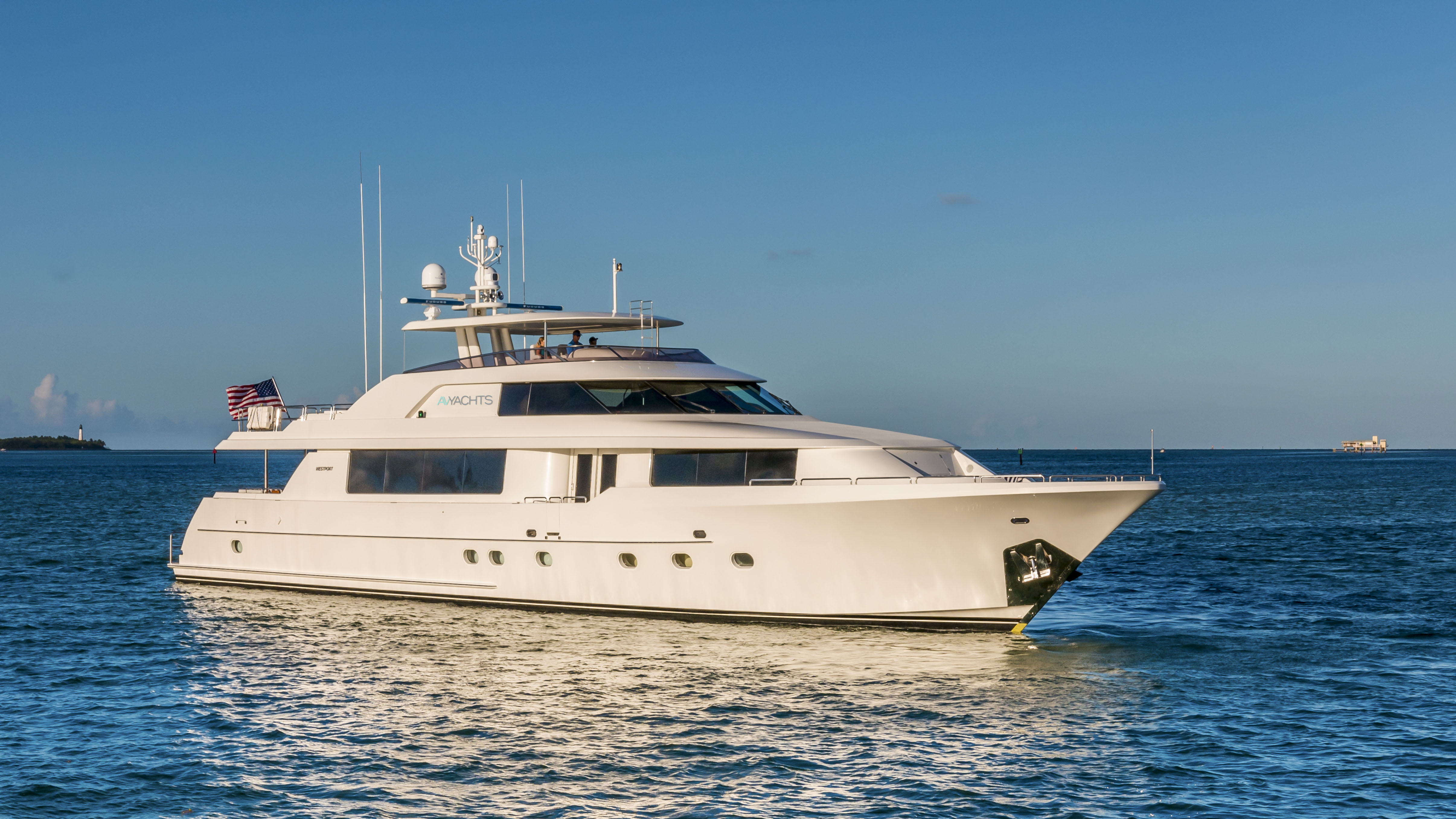 AvYachts Fractional yacht Ownership Westport superyacht