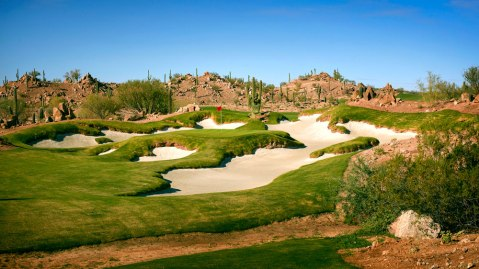 Scottsdale National Bad Little Nine course