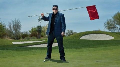 Bob Parsons golf flag green