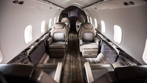 Flexjet Bombardier Challenger 350 business jet private aviation