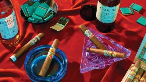 Highland and Island Single-Malt Scotches