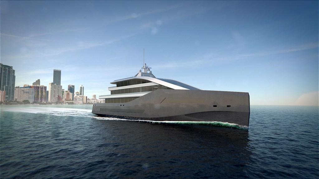 Rolls-Royce Crystal Blue Superyacht Concept