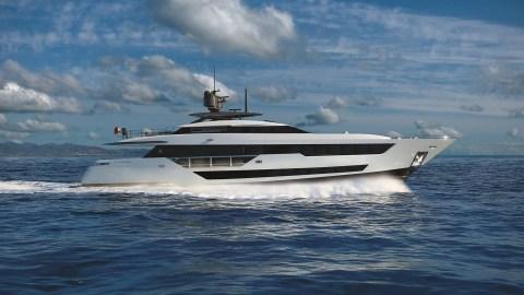 Custom Line 120 Superyacht ferretti paszkowski italian yacht