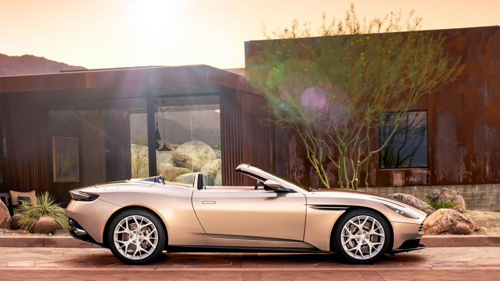 The Aston Martin DB11 Volante