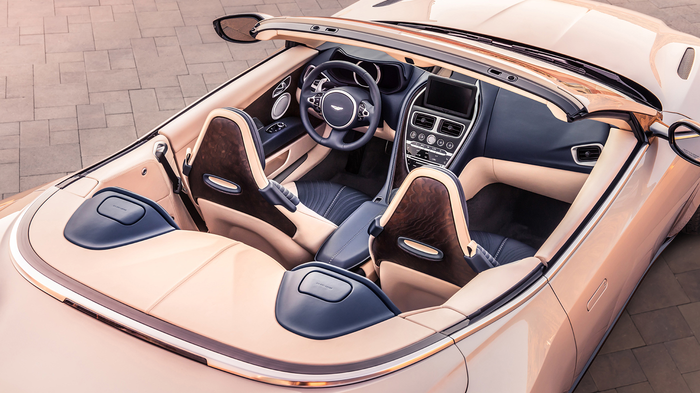 The Aston Martin DB11 Volante.