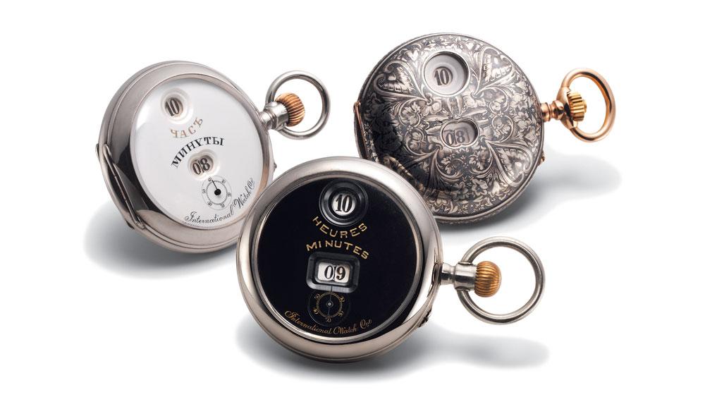 Digital pocket watches