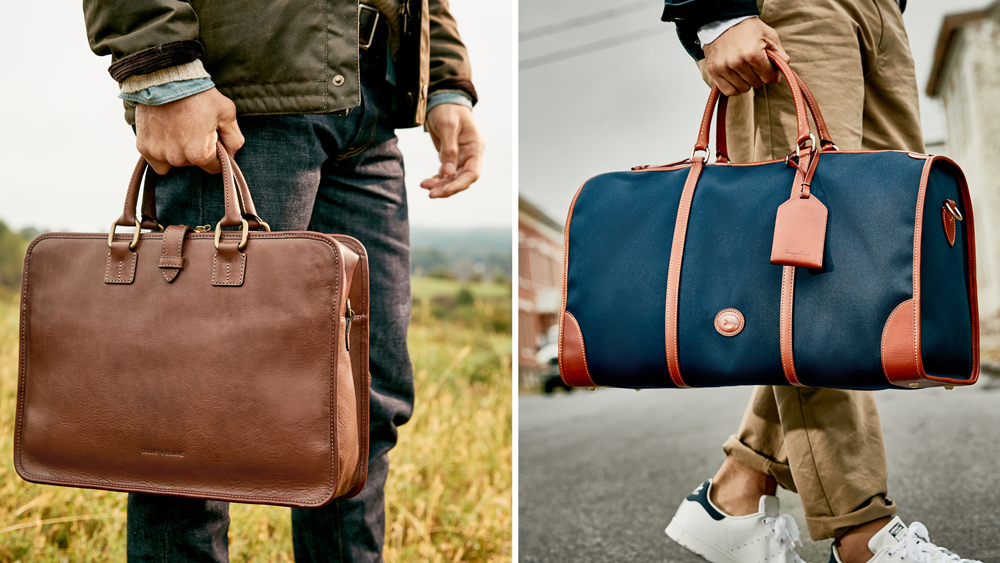 The Leather Carry On Is Making a Comeback
