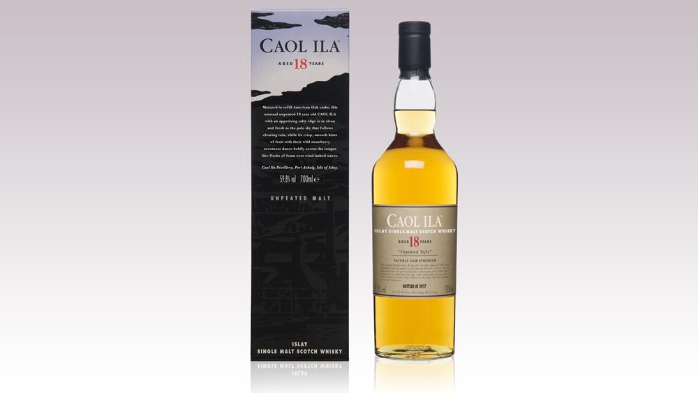 Caol Ila 18 Year Scotch Whisky